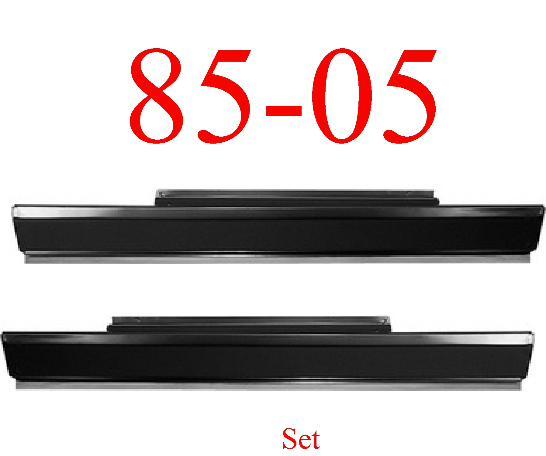85-05 Chevy Astro Rocker Panel Set